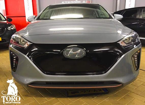 Car Wrapping - hyundai gril wrap - Toro Belettering