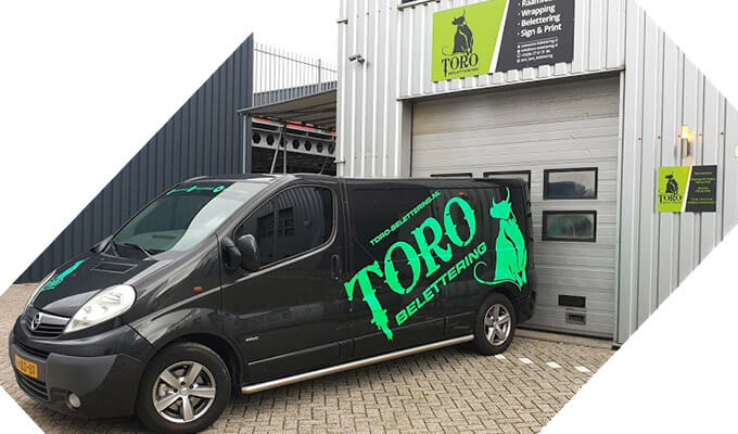 Over Ons - over toro belettering - Toro Belettering